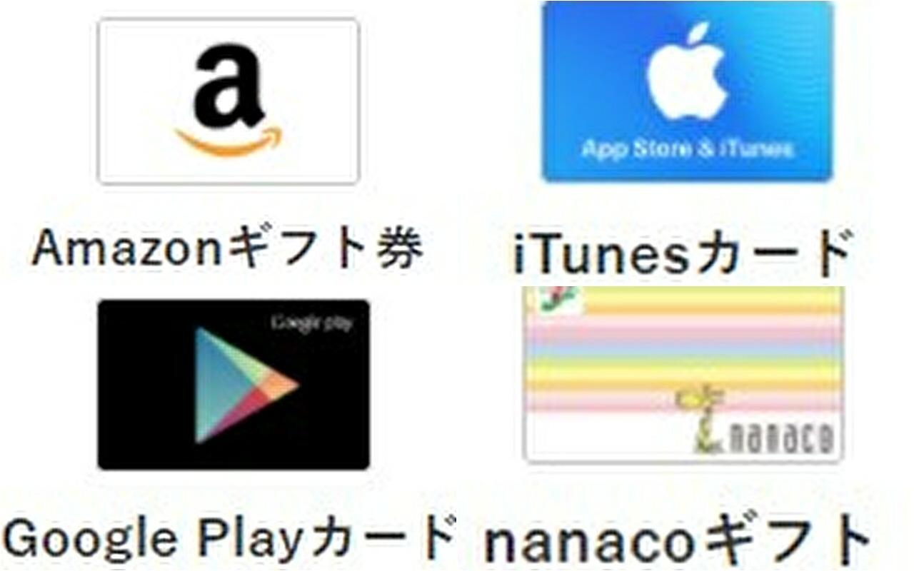 アマギフの売却よりも、iTunesカードやGooglePlayの方が換金率がいい