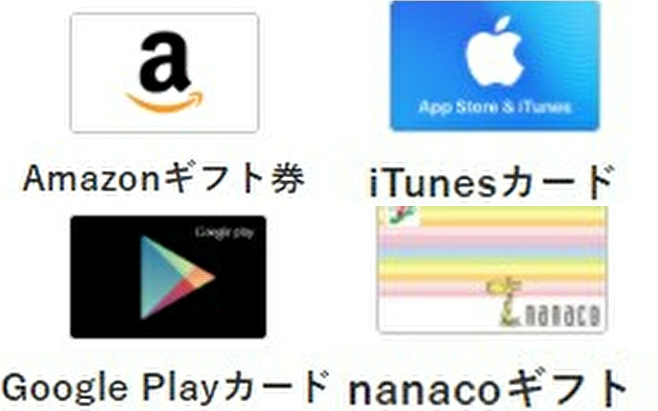 『Amazonギフト券・iTunesカード・googleplayカード』の換金率・買取価格が大暴落